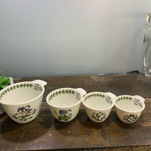 Floral Nesting Measuring Cups Portmeirion